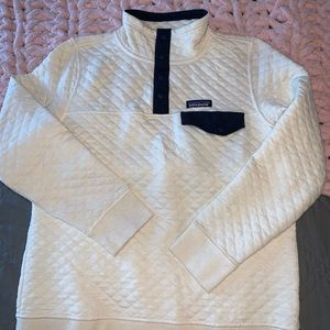 off-white quilted sweater